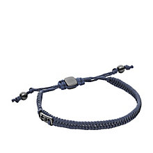 Fossil Men's Blue Leather Bracelet - Product number 5710863