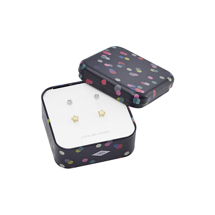 Fossil Gold Tone Earring Set - Product number 5710936