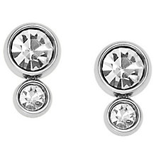 Fossil Stainless Steel Stone Set Earrings - Product number 5710960