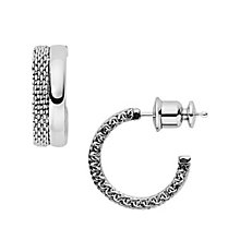 Skagen Elin Stainless Steel Hoop Earrings - Product number 5711037