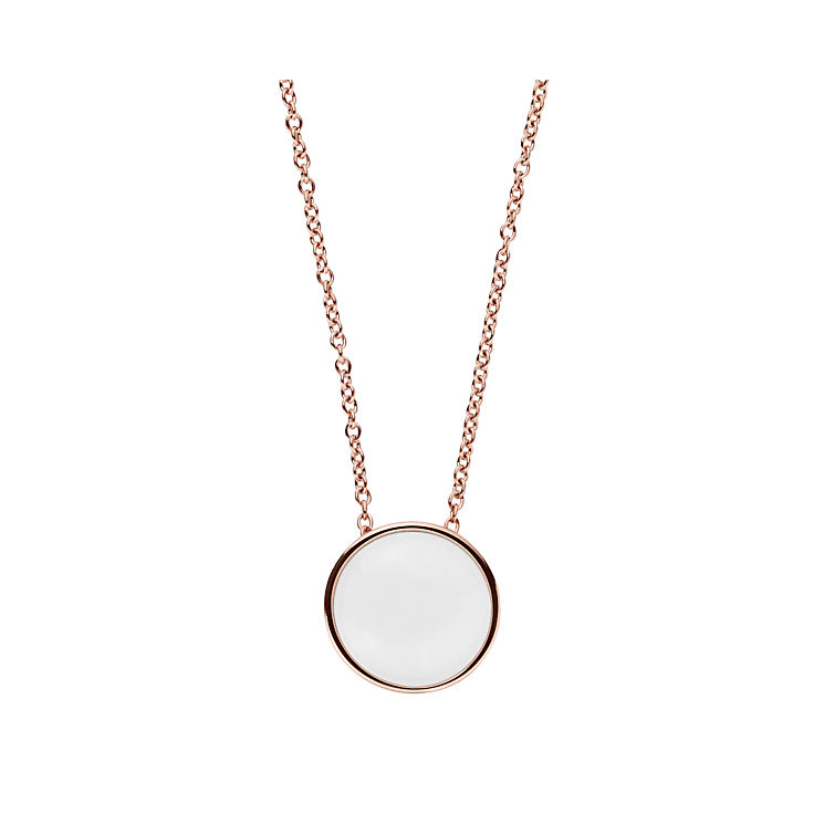 Skagen Seaglass Rose Gold Tone Pendant - Product number 5711061