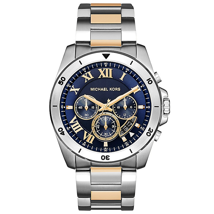 Michael Kors Men's Two Colour Bracelet Watch - Product number 5712343