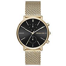 Michael Kors Men's Gold Tone Bracelet Watch - Product number 5712386