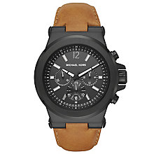 Michael Kors Men's Ion Plated Strap Watch - Product number 5712408