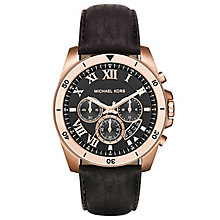 Michael Kors Men's Rose Gold Tone Strap Watch - Product number 5712416
