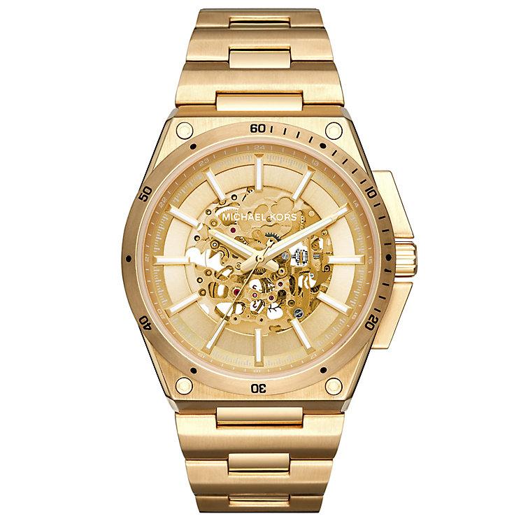 Michael Kors Men's Gold Tone Bracelet Watch - Product number 5712424
