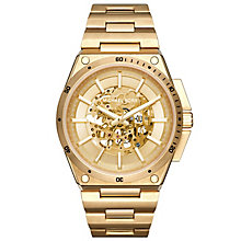 Michael Kors Men's Gold Tone Bracelet Watch - Product number 5712424