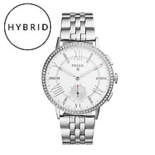 Fossil Q Gazer Ladies' Stainless Steel Hybrid Smartwatch - Product number 5712467