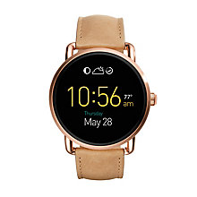 Fossil Q Wander Ladies' Rose Gold Tone Smartwatch - Product number 5712505