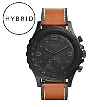 Fossil Q Nate Men's Ion Plated Hybrid Smartwatch - Product number 5712556