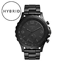 Fossil Q Nate Men's Ion Plated Hybrid Smartwatch - Product number 5712564