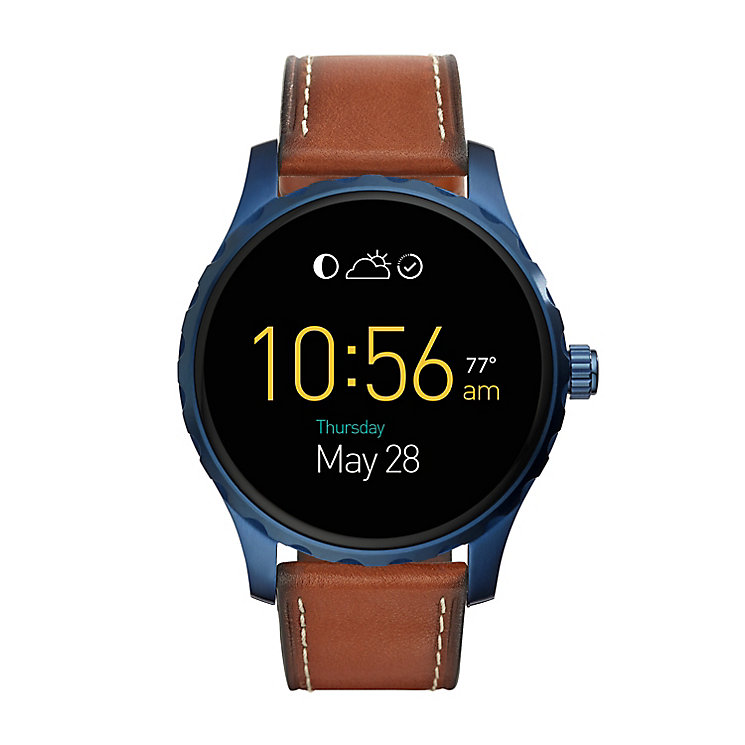 Fossil Q Marshal Men's Ion Plated Smartwatch - Product number 5712599