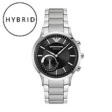 Emporio Armani Connected Men's Stainless Steel Smart Watch - Product number 5712637