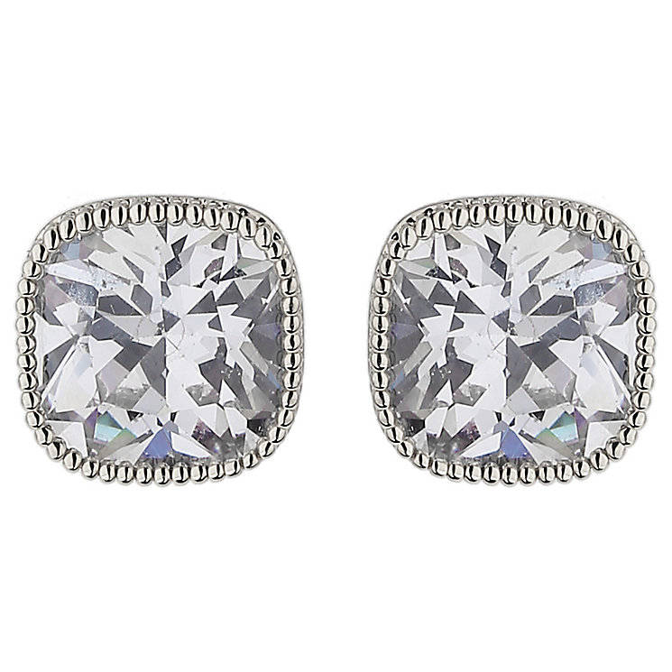 Mikey Square Crystal Stud Earrings - Product number 5714672