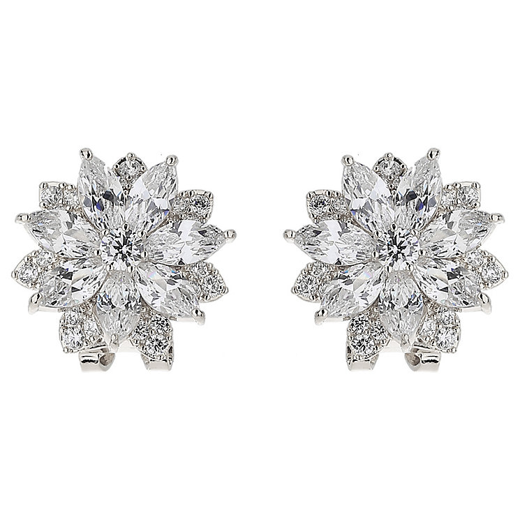 Mikey Sunflower Crystal Stud Earrings - Product number 5714710