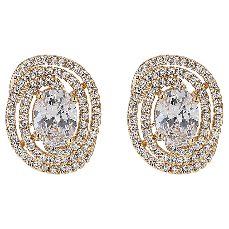 Mikey Oval Edged Earrings - Product number 5714842