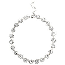 Mikey Silver Tone Crystal Daisy Necklace - Product number 5714966