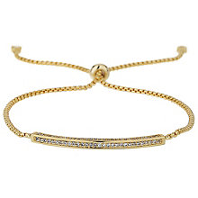 Mikey Gold Tone Crystal ID Bracelet - Product number 5715652