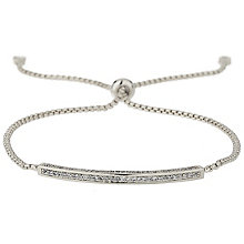 Mikey Silver Tone Crystal ID Bracelet - Product number 5715660