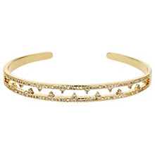 Mikey Gold Tone Crystal Bangle - Product number 5715679