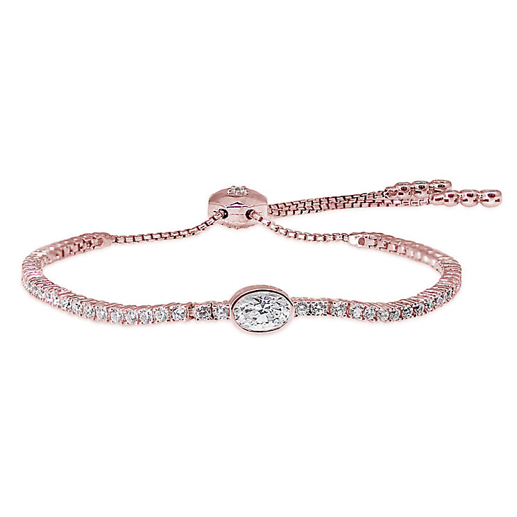 Carat Rose Gold Plated Millenium Bracelet - Product number 5715849