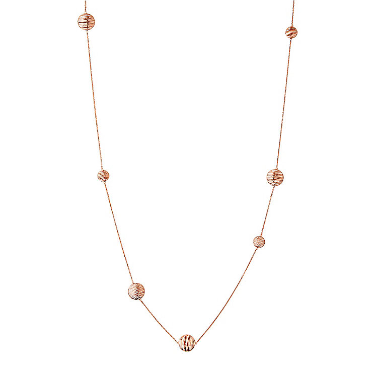 Links of London Rose Gold Vermeil Thames Necklace - Product number 5718058