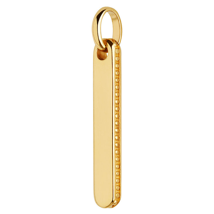 Links of London Narrative 18ct Yellow Gold Vermeil Pendant - Product number 5718120