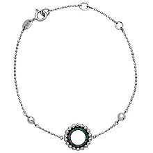 Links of London Effervescence Silver Blue Diamond Bracelet - Product number 5718139