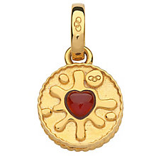 Links of London Yellow Gold Vermeil Jammy Dodger Charm - Product number 5718384