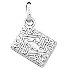 Links of London Sterling Silver Custard Cream Charm - Product number 5718414