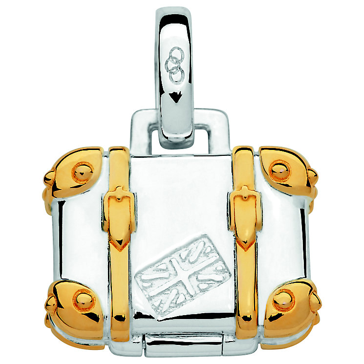 Links of London Yellow gold Vermeil Suitcase Charm - Product number 5718422