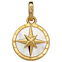 Links of London 18ct Yellow Gold Vermeil Compass Charm - Product number 5718430
