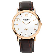 Links of London Noble Ladies Rose Gold Plated Strap Watch - Product number 5718503