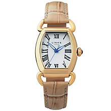 Links of London Driver Elipse Ladies' Gold Plated Watch - Product number 5718538