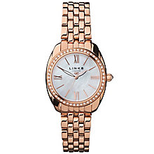 Links of London Bloomsbury Ladies' Rose Gold Plated Watch - Product number 5718546