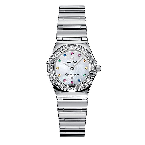 Omega Constallation Iris Mini ladies' gem-set watch