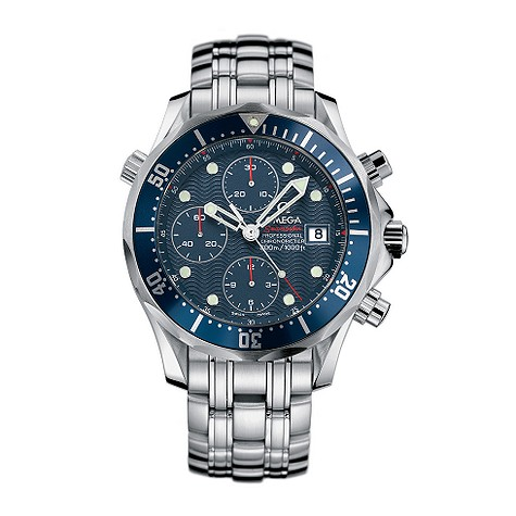 Omega Seamaster Diver men's automatic chronograph watch