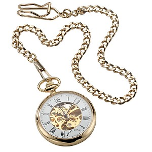 Mount Royal Gold Plated Pocket Watch
