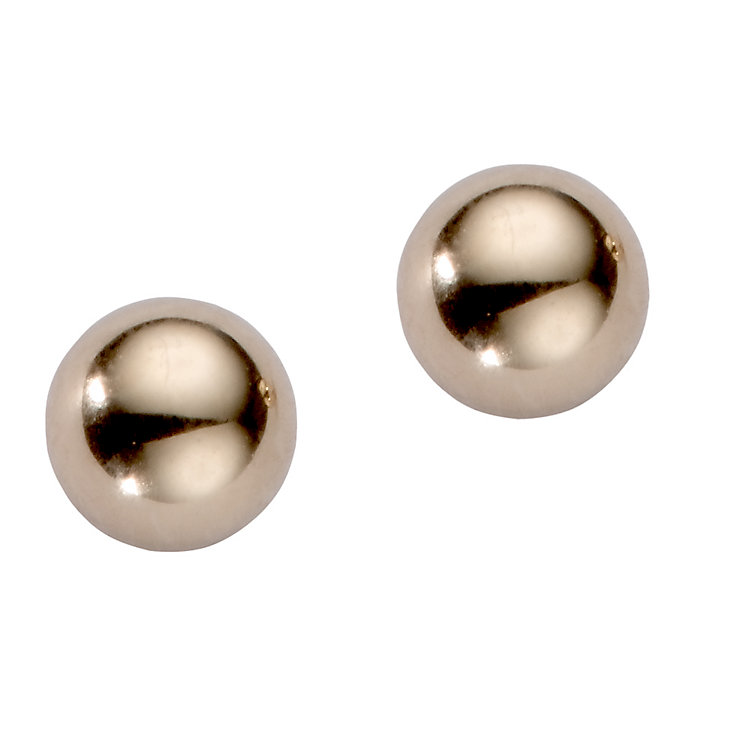 9ct gold 4mm ball stud earrings - Product number 5768004