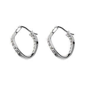 Oliver Weber Sparkling Hoop Earrings - Product number 5787084