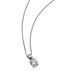 The Forever Diamond - 18ct White Gold Diamond Pendant - Product number 5812089