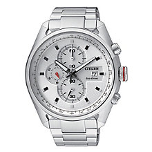 Citizen Men's Eco-Drive Stainless Steel Bracelet Watch - Product number 5818060