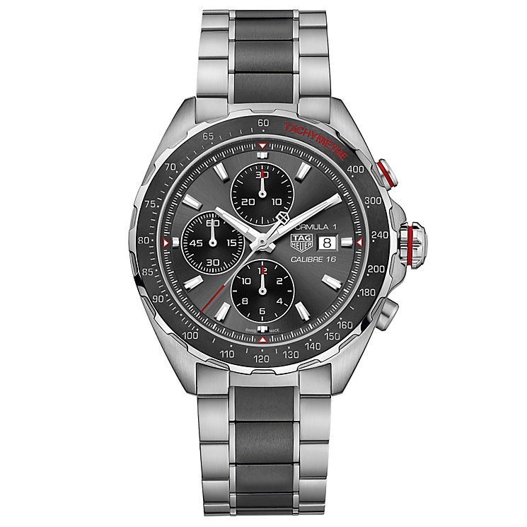 TAG Heuer F1 Men's Stainless Steel Bracelet Watch - Product number 5818338