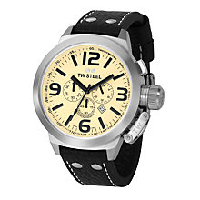 TW Steel Canteen Style men's 50mm chronograph watch - Product number 5818672