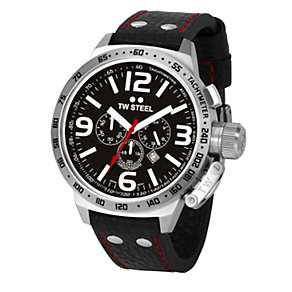 TW Steel Canteen Style men's 50mm tachymeter watch - Product number 5818761