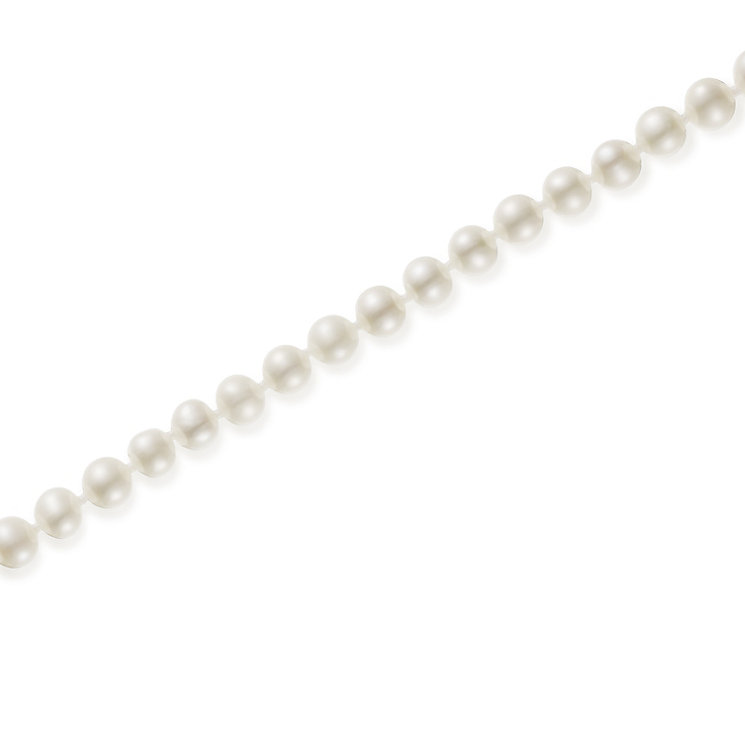 "9ct Gold 5mm Cultured Freshwater Pearl 30"" Necklace - Product number 5819156"
