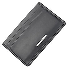 Hugo Boss Men's Black Leather Cardholder - Product number 5820405