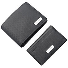 Hugo Boss Men's Black Leather Wallet & Cardholder - Product number 5820413