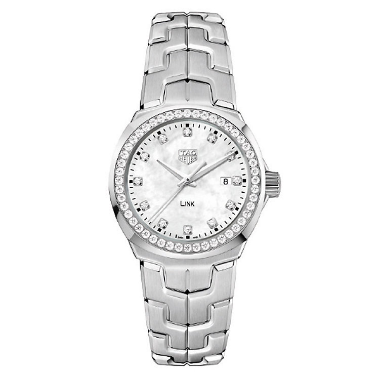 TAG Heuer Link Ladies' Stainless Steel Bracelet Watch - Product number 5820812