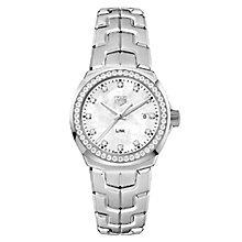 TAG Heuer Link Ladies' Stainless Steel Bracelet Watch - Product number 5820812
